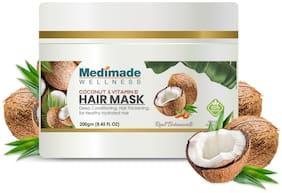 Medimade Coconut & vitamin E Hair Mask Pack of 1 200g