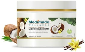 Medimade Coconut & Vanilla Moisturising Cream-200ml