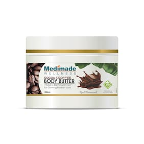Medimade Cocoa and Coffee Body Butter Pack of 1 200ml