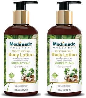 Medimade Coconut Milk Moisturizing Body Lotion  - Pack of 2