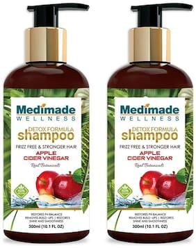 Medimade Detox Formula Shampoo with Apple Cider Vinegar