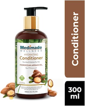 Medimade Hydrating Conditioner with Moroccan Argan Oil 300 ml (Pack Of 1)