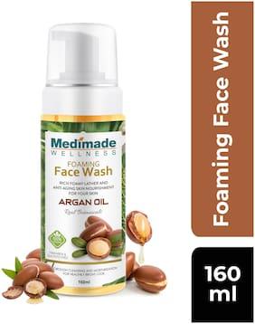 Medimade Moroccan Argan Oil Face Wash160ml