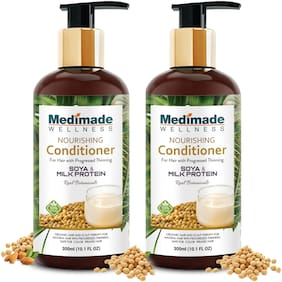 Medimade Nourishing Conditioner with Soya & Milk Protein - Pack of 2