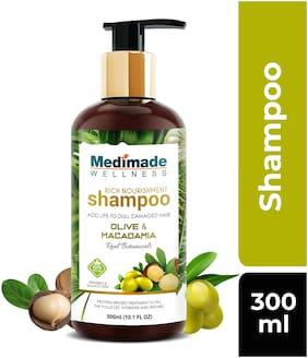 Medimade Olive and Macadamia Shampoo Pack of 1 300ml