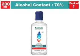 Medimade Sanitizer 70% Alcohol 200ml