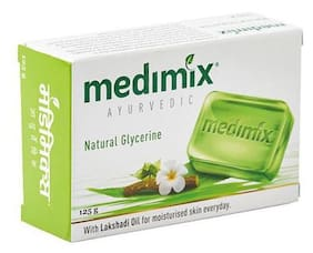 Medimix Bathing Soap - Ayurvedic Natural Glycerine 125 gm