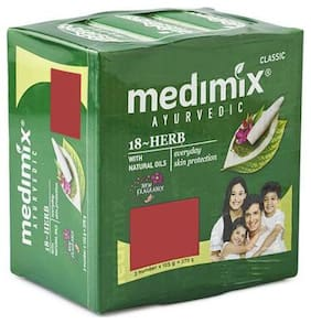 Medimix Bathing Soap - Ayurvedic Classic 18 Herbs 125 g