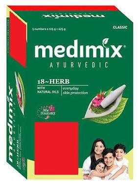 Medimix Bathing Soap - Classic Ayurvedic 18 Herbs 125 g
