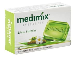 Medimix Bathing Soap - Ayurvedic Natural Glycerine 75 Gm