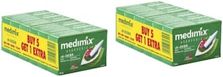 Medimix Classic Ayurvedic 18 Herbs Soap 75 g (5+1 offer Pack)-Pack of 2