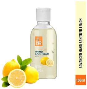 Medlife Advanced Lemon Hand Sanitizer 100 ML