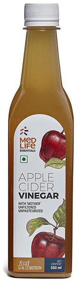Medlife Essentials Apple Cider Vinegar 500 ml