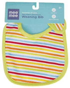 Mee Mee Absorbent Weaning Bib - Assorted 100 gm