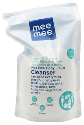 Mee Mee Baby Accessories & Vegetable Liquid Cleanser 1.2 L