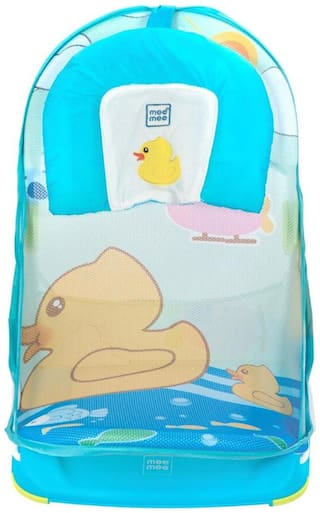 Mee Mee Anti-Skid Compact Baby Bather (Blue)