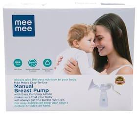 Mee Mee Breast Pump - White 1 pc
