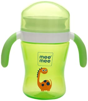 Mee Mee Easy Grip 360° Trainer Sipper Cup (Green 240 ml)