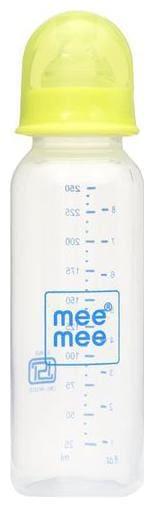 Mee Mee Eazy Flo Premium Baby Feeding Bottle - Green 250 ml