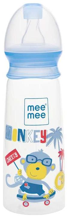 Mee Mee Eazy Flo Premium Baby Feeding Bottle (250 ml Blue)