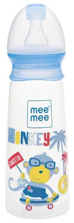 Mee Mee Eazy Flo Premium Baby Feeding Bottle (250 ml Blue)