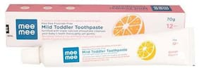 Mee Mee Fluoride Free Toothpaste - Orange Flavor 70 g (Pack Of 2)