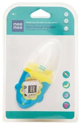 Mee Mee Food Feeder - Dark Blue/Light Blue 1 pc