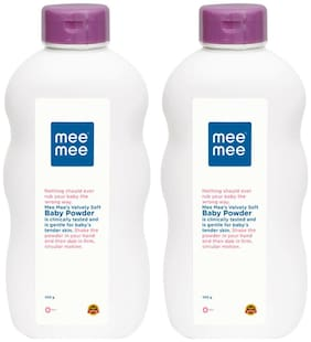 Mee Mee Fresh Feel Baby Powder 200 gm (Pack of 2)