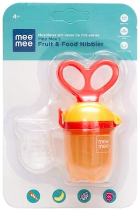 Mee Mee Fruit And Food Nibbler Orange