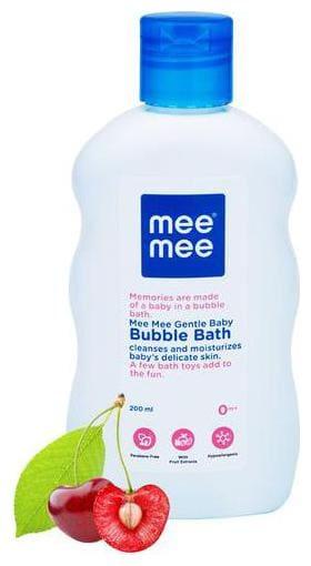 Mee Mee Gentle Baby Bubble Bath - White 200 ml