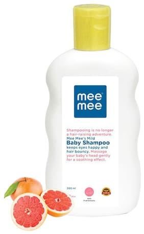 Mee Mee Mild Baby Shampoo With Fruit Extracts (200 ml)