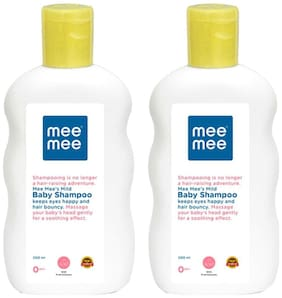 Mee Mee Mild Baby Shampoo With Fruit Extracts (200 ml) Pack of 2