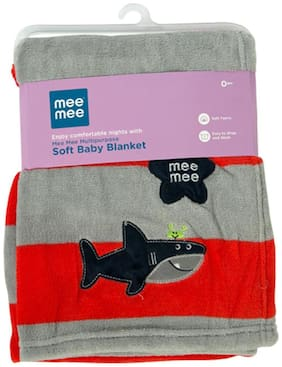 Mee Mee Multipurpose Soft Baby Blanket (Red)