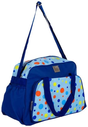 Mee Mee Multipurpose Diaper Bag With Changing Mat (Blue)