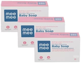 Mee Mee Nourishing Baby Wellness Soap - Pack of 3