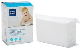 Mee Mee One-Way Protective Nappy Liners  100 Count