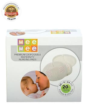 Mee Mee Premium Disposable Maternity Breast Pads 24 Pieces