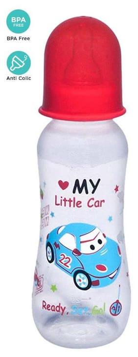Mee Mee Premium Feeding Bottle (Red 250 ml)