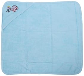Mee Mee Soft Absorbent Baby Towel With Hood (Blue)