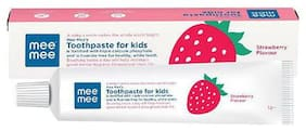 Mee Mee Toothpaste for kids - Fluoride Free, Strawberry Flavor 1 pc