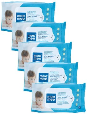 Mee Mee Wet Wipes Lemon Fragrance (30 pcs)