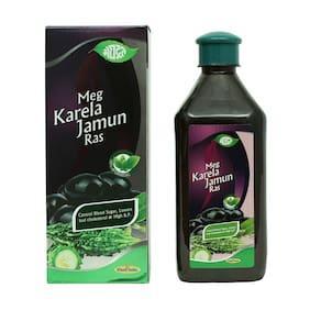 Meghdoot Ayurvedic Meg Karela Jamun Ras 500ml (Pack of 2)