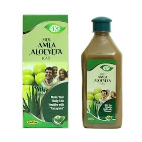 Meghdoot Ayurvedic Amla Aloevera Juice 500ml (Pack of 2)