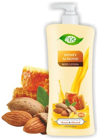 Meghdoot Honey Almond Body Lotion 500ml (Pack of 1)