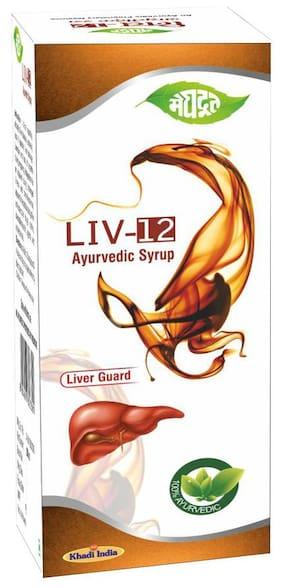 Meghdoot Liv-12 Ayurvedic Syrup 200ml (Pack of 1)