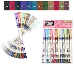 MENOW Perfect Eye/Lip liner Pencils (Pack of 12)20Gram