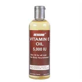 Mensome Vitamin E Oil 5000 Iu For Stretch Mark,Scars,Cuts,Dry Skin And Hair 200 ml