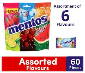 Mentos Chewy Dragee - Assorted Flavour 156 g