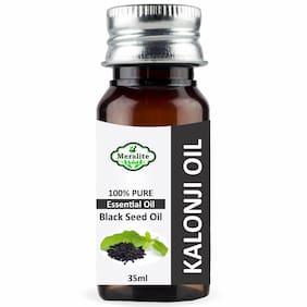 Meralite 100% Pure Cold Pressed Black Seed Oil Kalonji Oil, Hair Treatment Oil 35 ml ( Pack of 1 )
