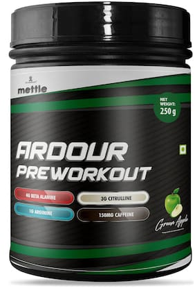 Mettle Ardour Pre Workout Powder 250 g (Pack Of 1)